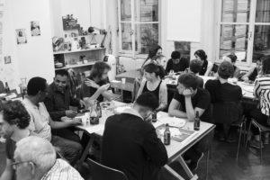 Sitzung Koordinationsgruppe WasB @ Heitere Fahne