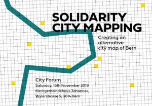 Workshop AG Solidarity City Mapping @ Neubrückstrasse 17, 3012 Bern